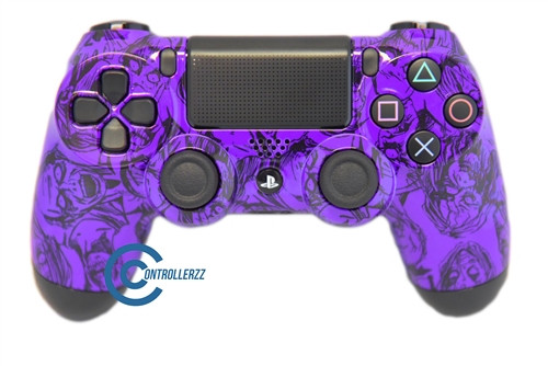 Purple Zombie PS4 Controller | Ps4