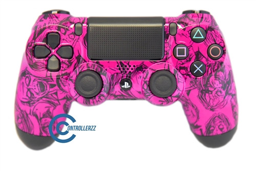 Pink Zombie PS4 Controller | Ps4