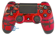 Red Barbed Wire PS4 Controller | Ps4