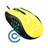 Yellow Swirl Razer Naga | Razer Naga