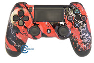 Red Splatter PS4 Controller | Ps4