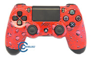 Red Water Drop PS4 Controller | Ps4