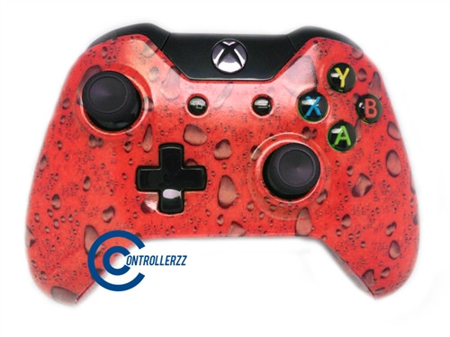 Red Waterdrop Xbox One Controller   Xbox One