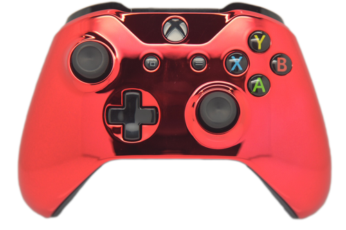 Red Chrome Xbox One S Controller | Xbox One