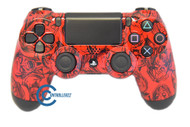 Red Zombie PS4 Controller | Ps4