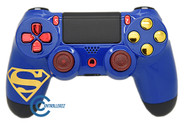 Superman Themed PS4 Controller | Ps4
