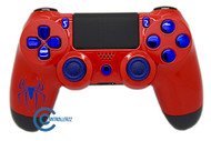 Spiderman Themed PS4 Controller | Ps4