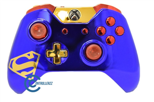 Superman Themed Xbox One Controller