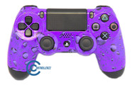 Purple Water Drop PS4 Controller | PS4