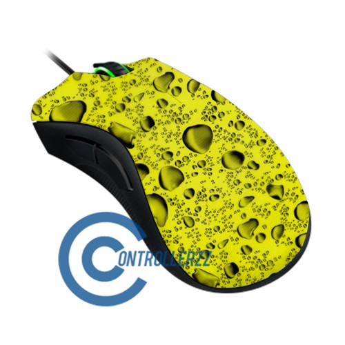 Yellow Water Dropped Razer DeathAdder | Razer DeathAdder