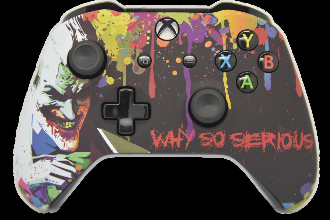 Joker V2 Themed Xbox One S Controller