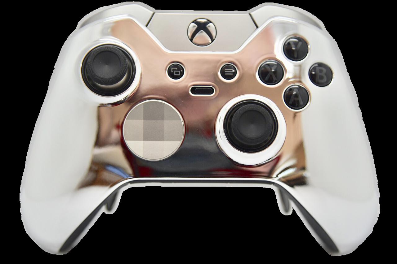 Silver Chrome Xbox One Elite Controller