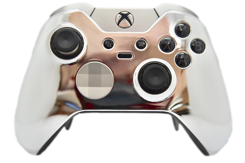 Silver Chrome Xbox One Elite Controller | Xbox One