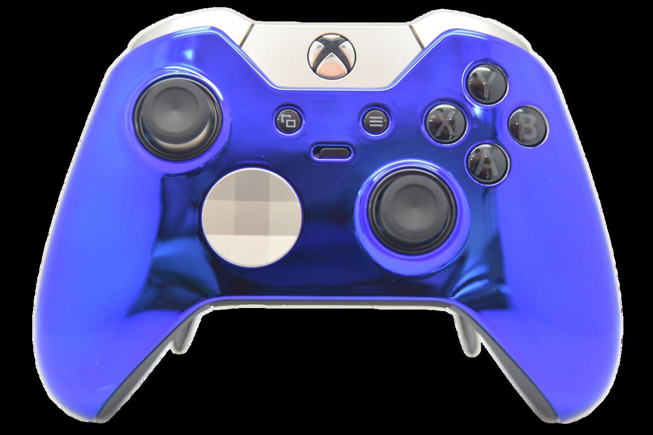Blue Chrome Xbox One Elite Controller