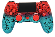 Red & Teal PS4 Controller | PS4