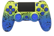 Blue & Green Fade PS4 Controller | PS4