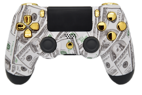 Money & Gold PS4 Controller