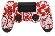 Blood Splatter PS4 Controller | PS4