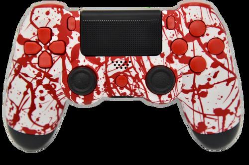 Blood Splatter PS4 Controller | PS4
