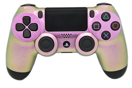 Pink Chameleon PS4 Controller | PS4