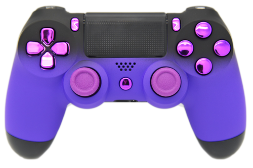 Purple & Black Fade PS4 Controller | PS4
