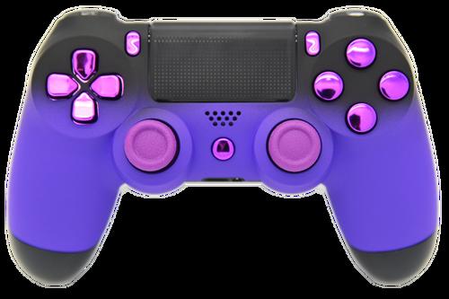 Purple & Black Fade PS4 Controller | PS4