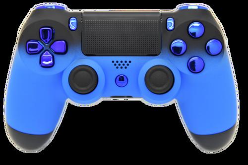 Blue & Black Fade PS4 Controller | PS4