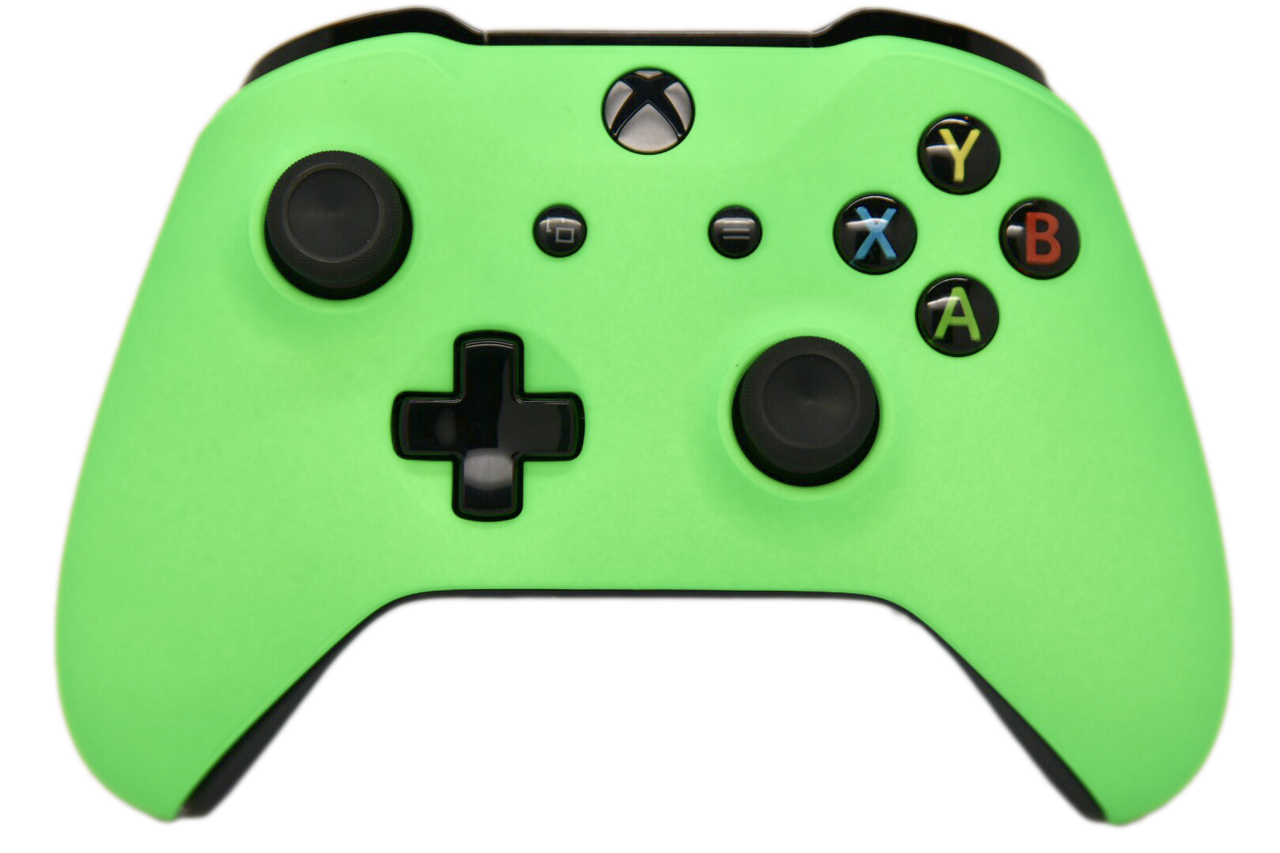 Green Xbox One S Custom Controller