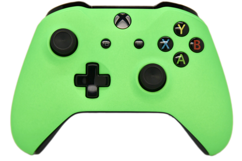 Green Xbox One S Controller   Xbox One