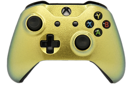 Gold Chameleon Xbox One S Controller | Xbox One