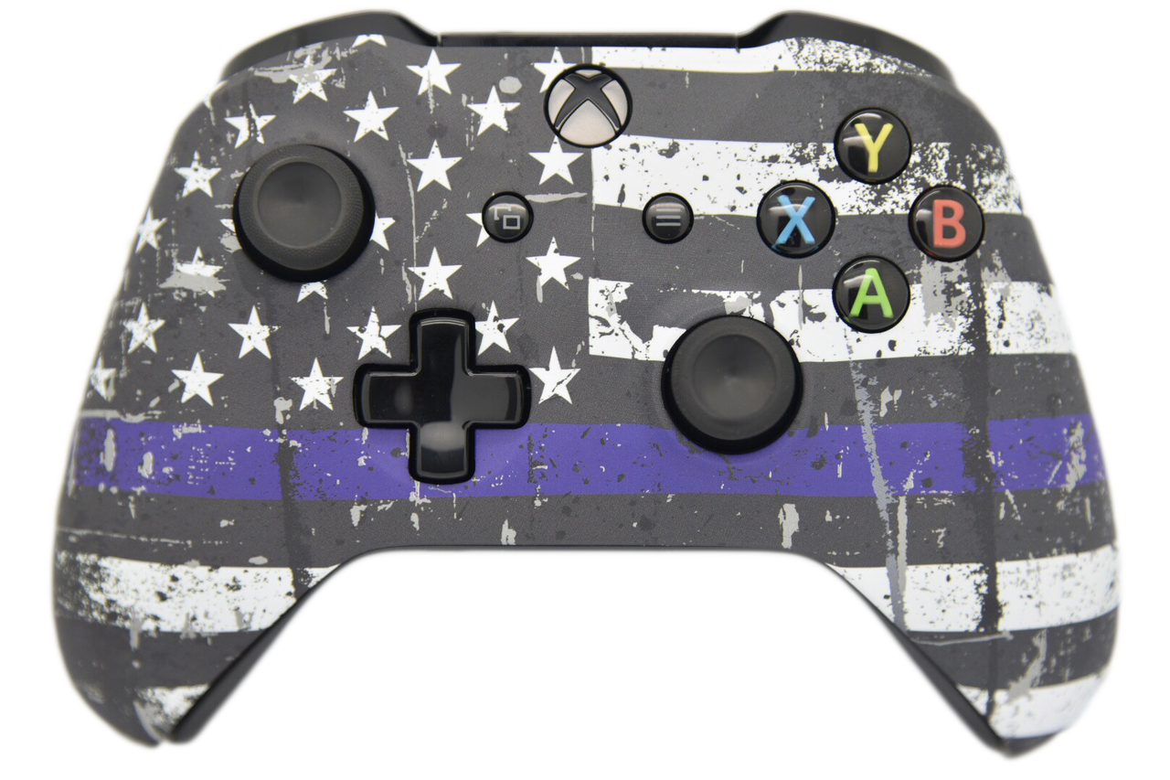 Blue Line Xbox One S Controller