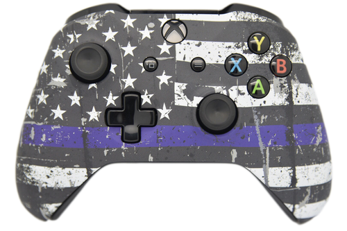 Blue Line Xbox One S Controller | Xbox One