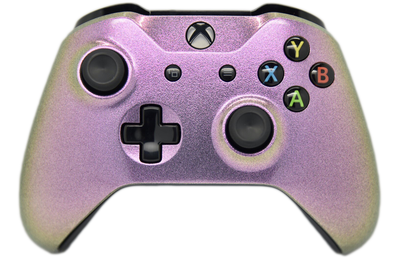 Pink Chameleon Xbox One S Controller