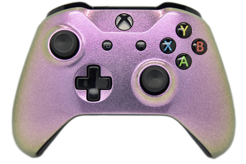 Pink Chameleon Xbox One S Controller | Xbox One