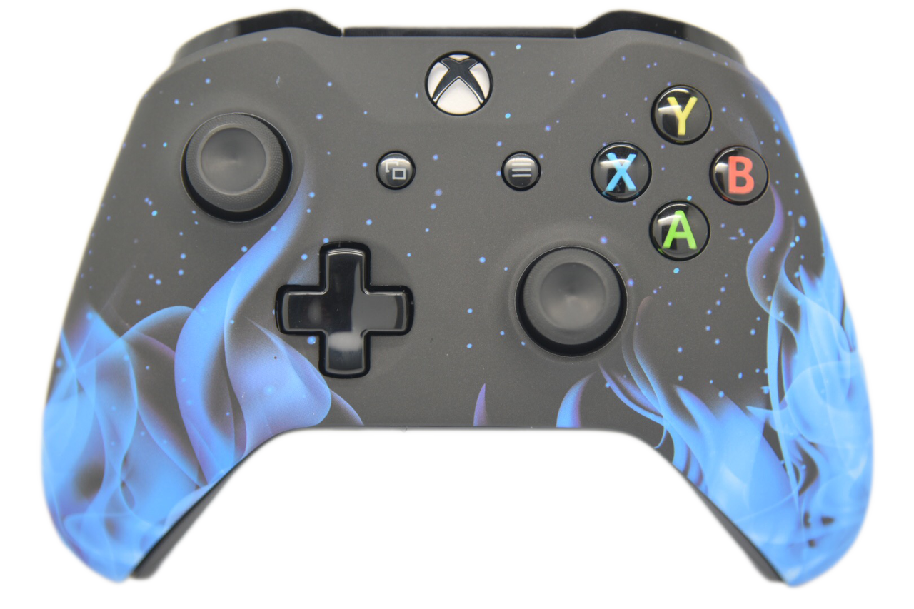Blue Flame Xbox One S Controller