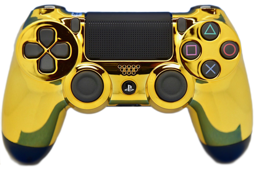 Gold PS4 Controller   PS4