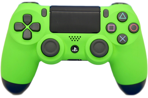 Green Soft Touch PS4 Controller | PS4