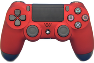 Red Soft Touch PS4 Controller