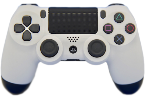 White Soft Touch PS4 Controller | PS4