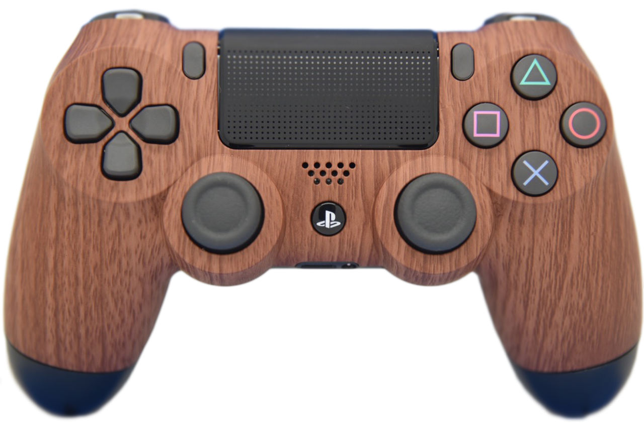 Woodgrain PS4 Controller