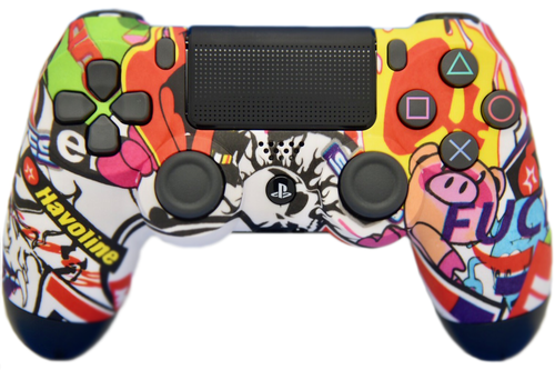 Sticker Bomb PS4 Controller | PS4