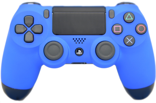 Blue Soft Touch PS4 Controller | PS4