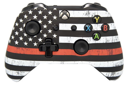 Red Line Xbox One S Controller | Xbox One