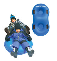 Slippery Racer AirDual™ 2-Person Inflatable Snow Tube Sled