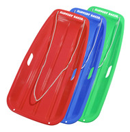 Slippery Racer Downhill Sprinter Plastic Snow Sled Toboggan