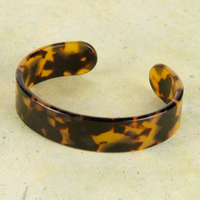 B1195-BR Flexible Resin Bracelet