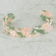 B1195-PK Flexible Resin Bracelet