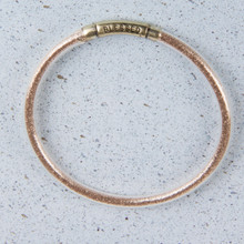 "B1209-CH ""Blessed"" Glitter Bangle"