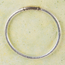 "B1209-SL ""Blessed"" Glitter Bangle"