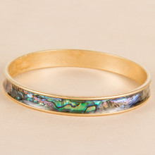 B1211-AB Mother of Pearl Bangle
